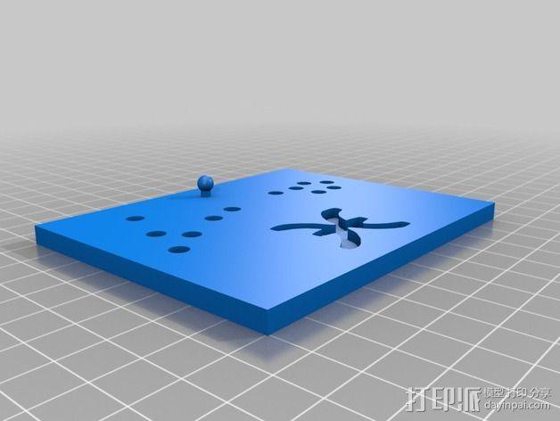 生肖LED盒 3D模型  图11