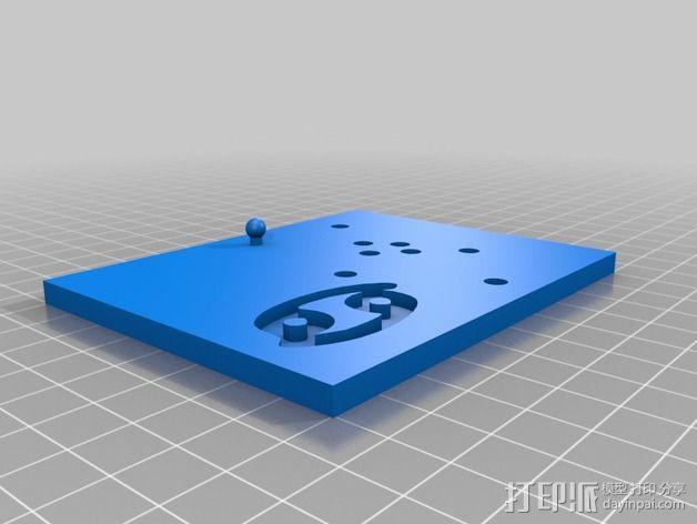 生肖LED盒 3D模型  图13