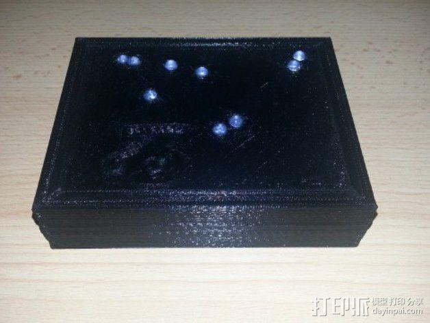 生肖LED盒 3D模型  图15