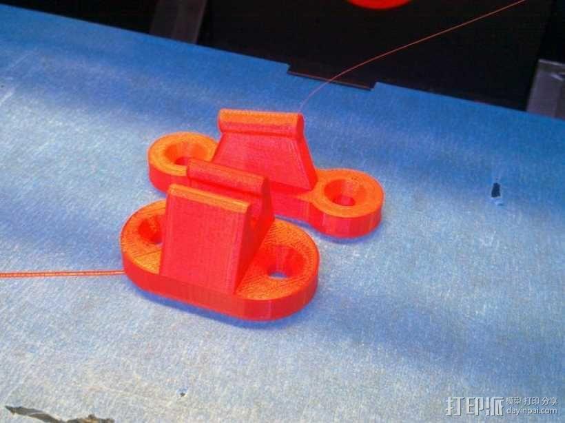 门夹/门扣 3D模型  图1