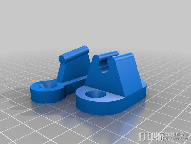 门夹/门扣 3D模型  图2
