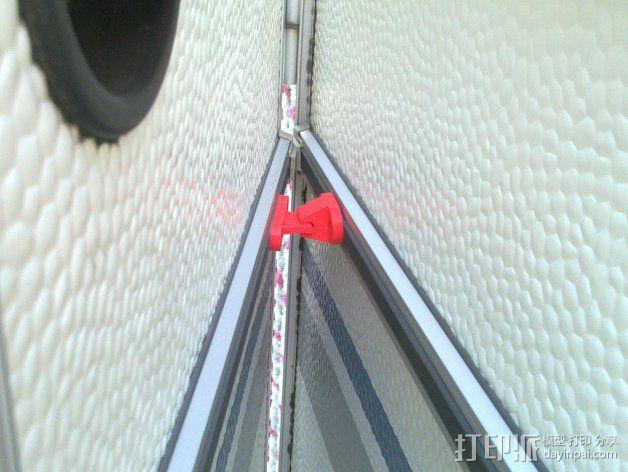 门夹/门扣 3D模型  图3