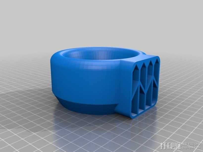 无扇叶风扇 3D模型  图4