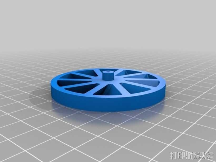 无扇叶风扇 3D模型  图3