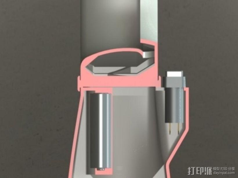 无扇叶风扇 3D模型  图7