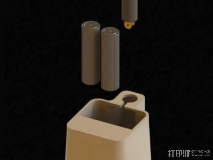 无扇叶风扇 3D模型  图6