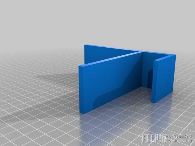 宜家书架挡板 3D模型  图2