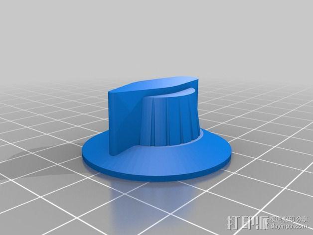 定制化旋钮 3D模型  图1