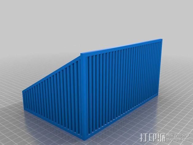 物品收纳盒 3D模型  图3