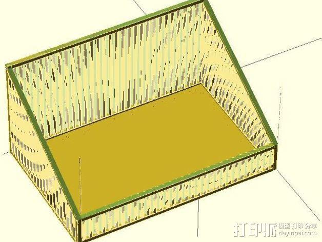 物品收纳盒 3D模型  图4