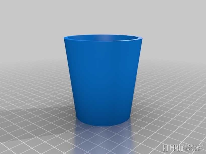 参数化杯子 3D模型  图1