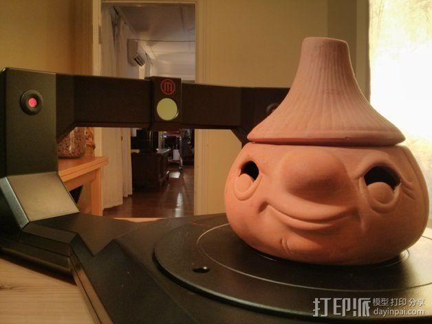 蒜头 罐子 3D模型  图3
