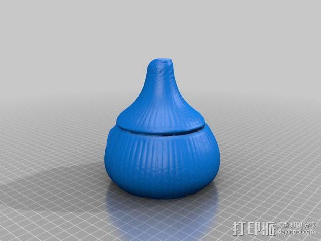 蒜头 罐子 3D模型  图7