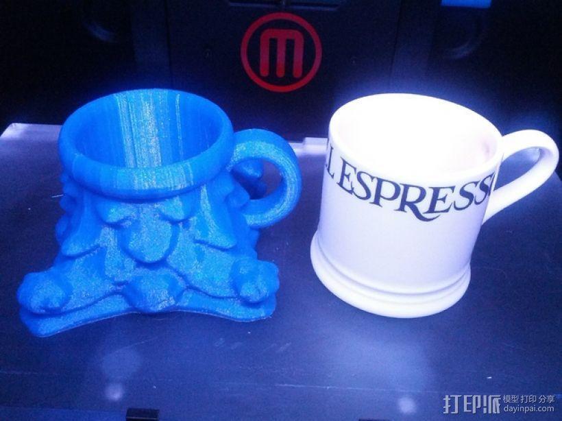 咖啡杯 3D模型  图1