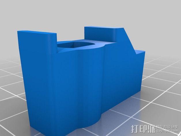 洗衣机/洗碗机把手 3D模型  图2