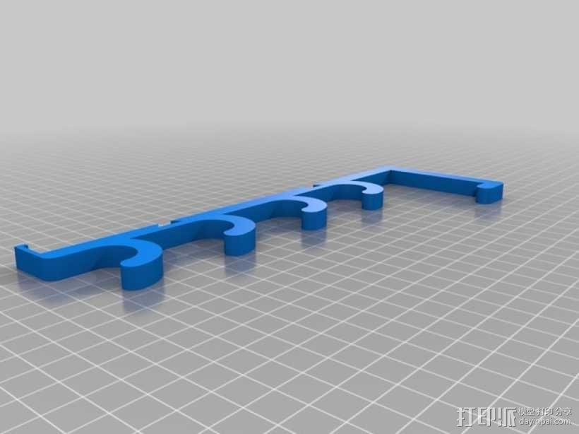 白板笔/白板擦 架子 3D模型  图4