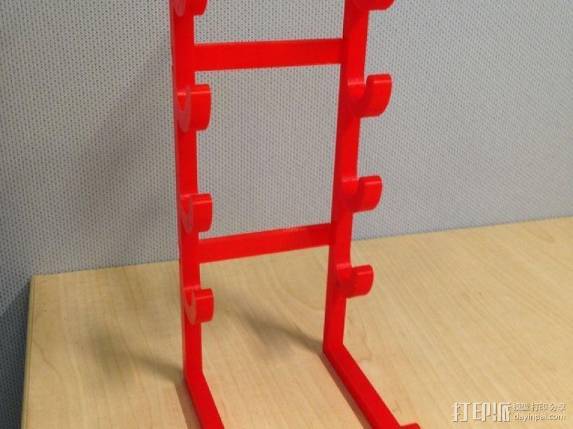 白板笔/白板擦 架子 3D模型  图2