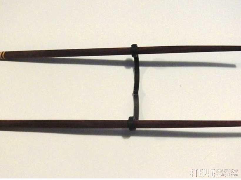 筷子架 3D模型  图1