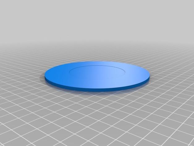 智能杯垫 3D模型  图5
