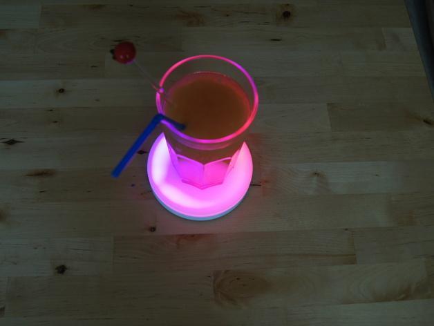 智能杯垫 3D模型  图3
