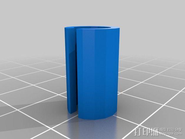 百叶窗控制器保护套 3D模型  图2