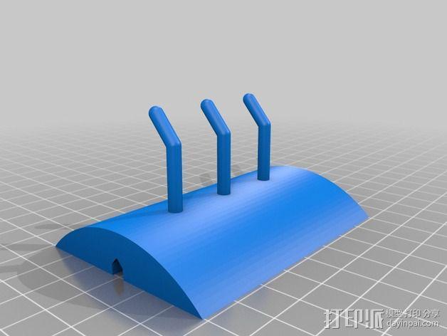 模块化厨房挂件 3D模型  图2