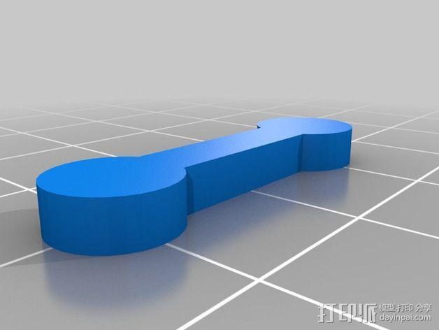 模块化厨房挂件 3D模型  图3
