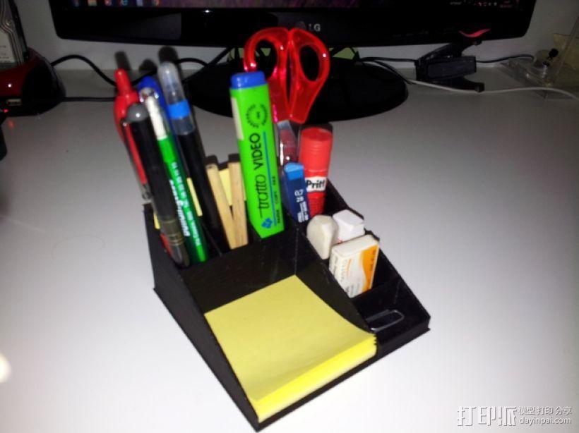 多功能笔筒 3D模型  图1