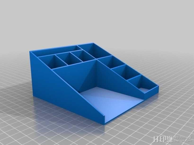 多功能笔筒 3D模型  图2
