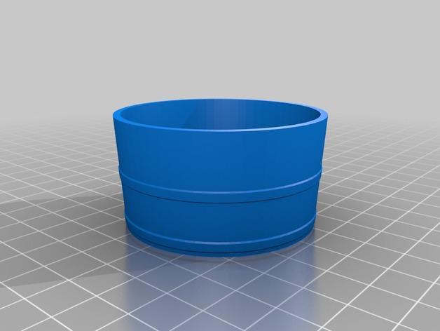 迷你日本温泉桶 3D模型  图3
