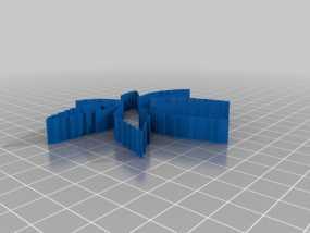 树叶 饼干制作模具 3D模型