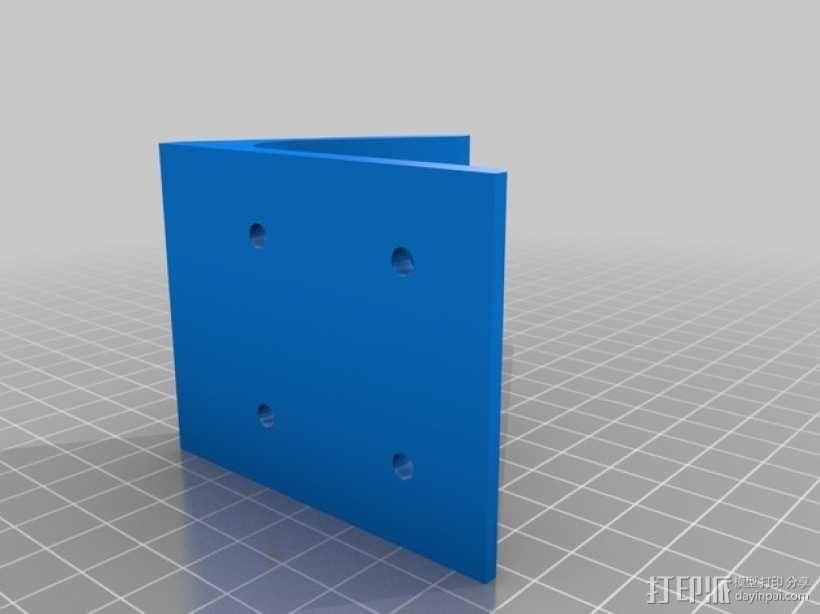 60度角的支架 3D模型  图2