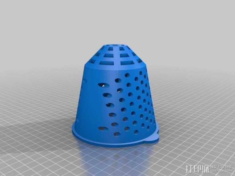 悬挂式水培种植系统 3D模型  图3