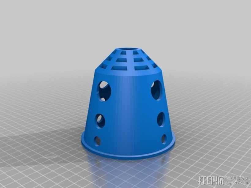 悬挂式水培种植系统 3D模型  图10