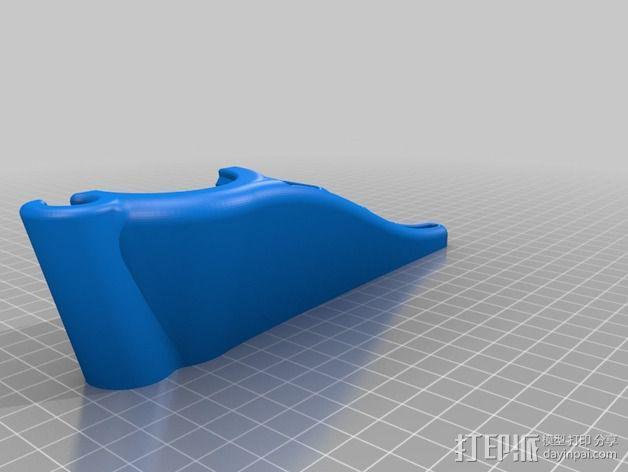 核桃夹 3D模型  图3