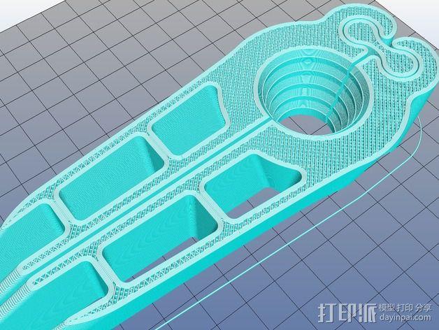 核桃夹 3D模型  图8