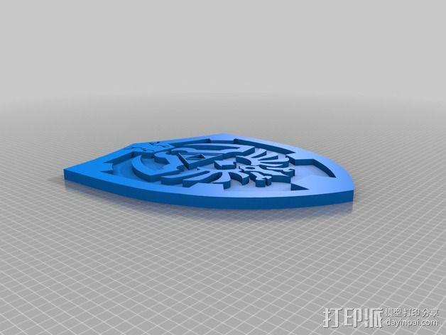 塞尔达Link之盾 3D模型  图2