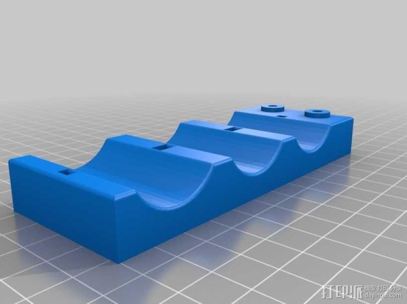 电容槽 3D模型  图2