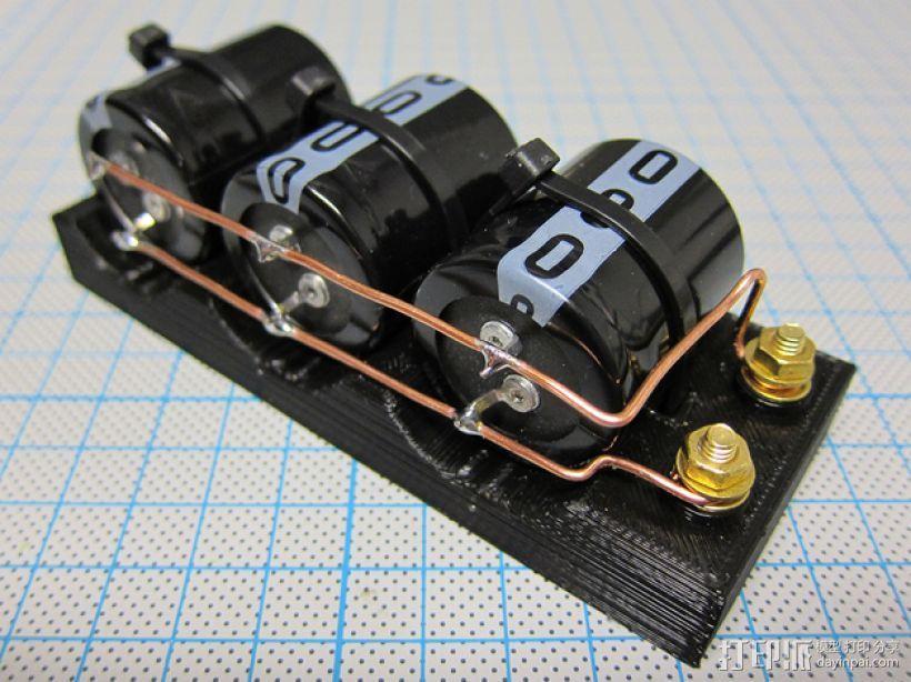 电容槽 3D模型  图1
