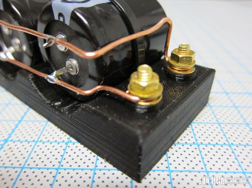 电容槽 3D模型  图3