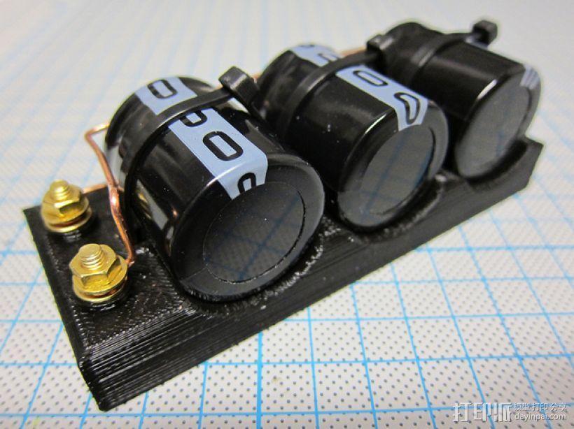 电容槽 3D模型  图5