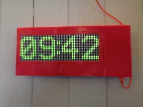 乒乓电子钟盒 3D模型