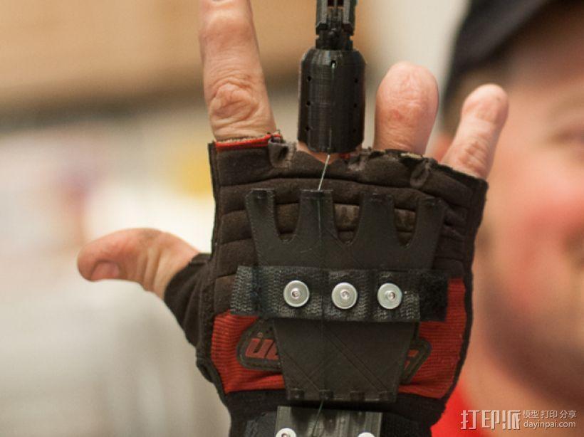 假肢手指 3D模型  图1
