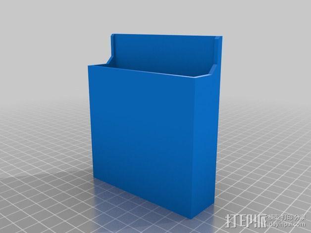 白板笔桶 3D模型  图2