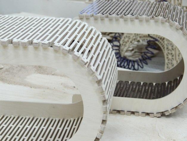 阴阳座椅 3D模型  图2