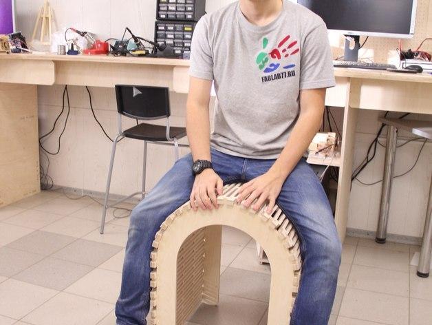 阴阳座椅 3D模型  图5