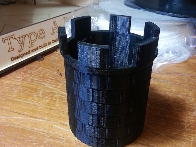 城堡塔楼 3D模型  图2