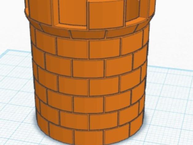 城堡塔楼 3D模型  图3