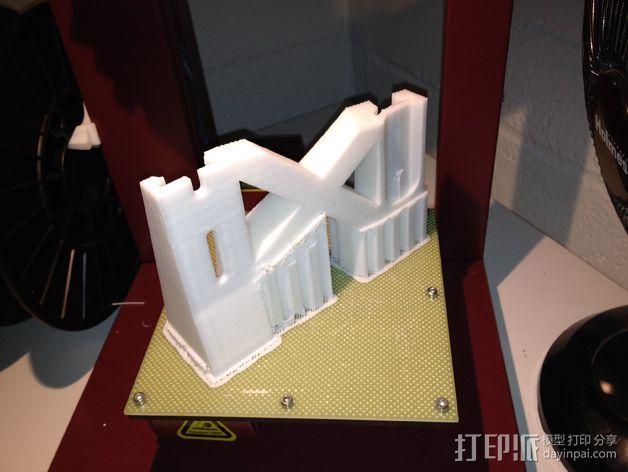 E-Rod机动窗帘杆马达接合器片和支架 3D模型  图22