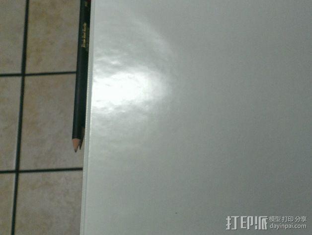 活页夹铅笔固定夹 3D模型  图3